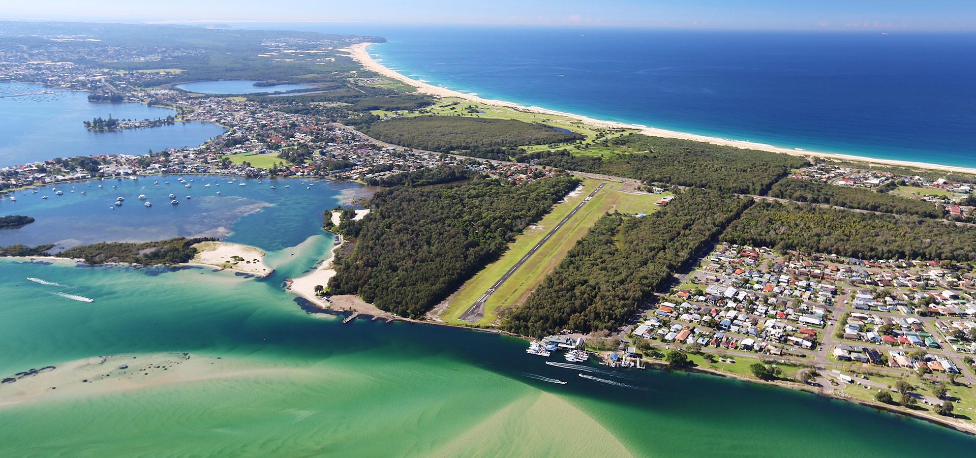 Welcome to Lake Macquarie Airport
